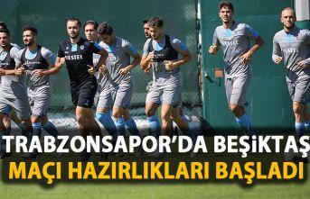 Trabzonspor'da Beşiktaş maçı hazırlıkları...