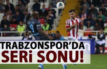 Trabzonspor'da seri sona erdi