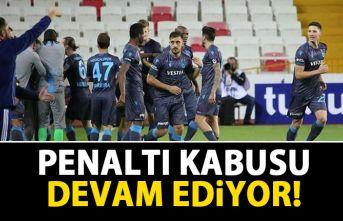 Trabzonspor'un penaltı kabusu