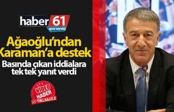 Ahmet Ağaoğlu'ndan Karaman'a destek: Tek...