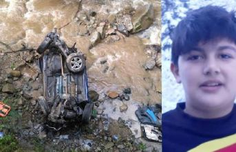 Trabzon'da acı olay! Araçla dereye uçtu, kendisi öldü, kardeşi yaralandı