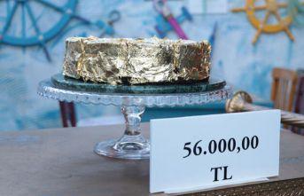 Türkiye'nin en pahalı pastası şok etti