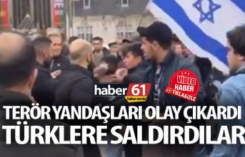 Terör yandaşları Hollanda'da Türklere saldırdı