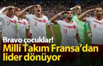 Alkışlar Miili Takıma! Türkiye Fransa'dan...