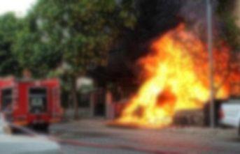 Apartmanda çıkan yangın korkuttu!