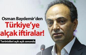Osman Baydemir'den alçak iftiralar!