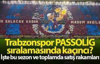 Trabzonspor kaç Passolig sattı?