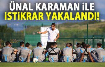 Trabzonspor Ünal Karaman ile istikrarı yakaladı
