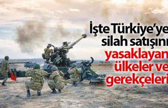 İşte Türkiye'ye silah satışını yasaklayan...