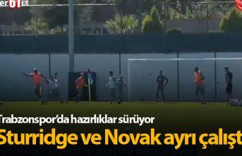 Sturridge ve Novak ayrı çalıştı