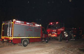 Mersin Erdemli'de orman yangını meydana geldi!
