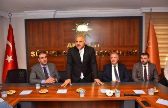 Murat Zorluoğlu Sürmene'de vatandaşlarla buluştu