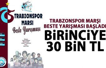 Trabzonspor için marş yarışması başladı! 30 bin Tl ödül!