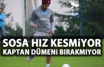 Trabzonspor'da Jose Sosa hız kesmiyor