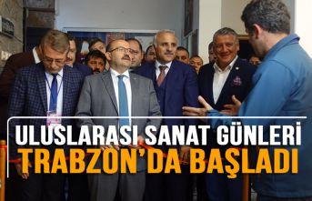 """""""11. Uluslararası Sanat Günleri"""" Trabzon'da..."""