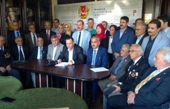 Trabzon'da Barış Pınarı'na tam destek