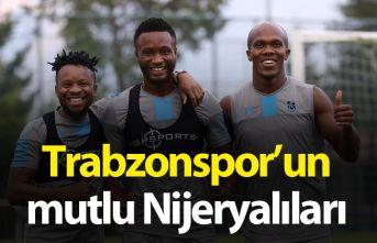Trabzonspor'da mutlu Nijeryalılar
