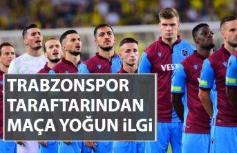 Trabzonspor taraftarından biletlere yoğun ilgi