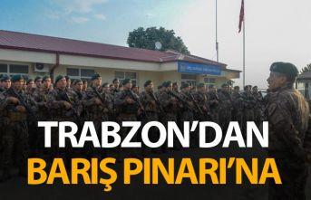 Trabzon'dan Barış Pınarı'na gittiler