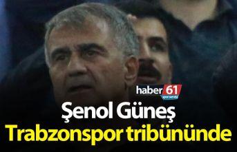 Şenol Güneş Trabzonspor tribününde