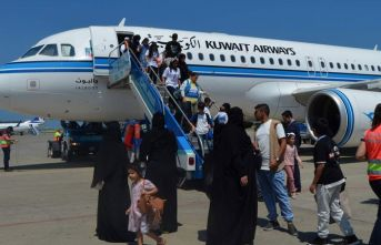 Trabzon'a gelen yabancı uçak sayısı arttı