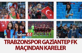 Trabzonspor Gaziantep FK maçından kareler