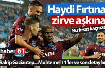 Trabzonspor Gaziantep maçı saat kaçta hangi kanalda?