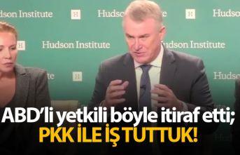 ABD'li yetkili böyle itiraf etti: Türkiye'nin can düşmanı olan PKK ile iş tuttuk