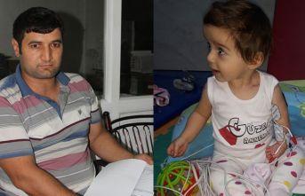 Bir baba kızı için yardım bekliyor