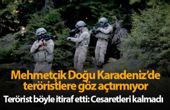 Mehmetçik Doğu Karadeniz'de teröristlere göz...