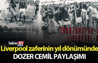 Trabzonspor'dan anlamlı günde Dozer Cemil paylaşımı
