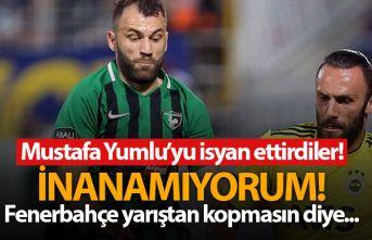 Mustafa Yumlu'yu isyan ettirdiler