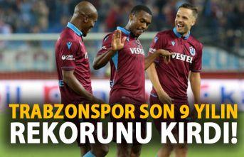 Trabzonspor son 9 sezonun rekorunu kırdı!