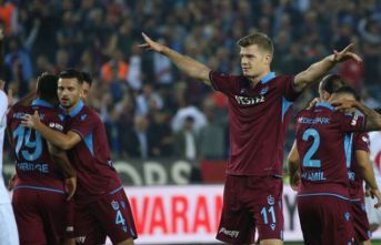 Trabzonspor'un yabancılarından skora direkt...