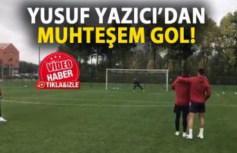 Yusuf Yazıcı'dan muhteşem gol!