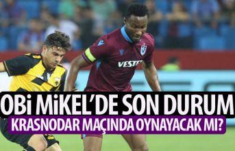 Trabzonspor'da Mikel için yoğun mesai! Krasnodar...