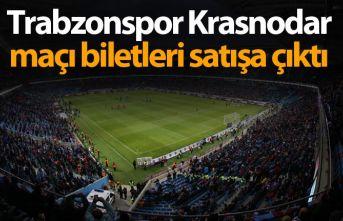 Trabzonspor Krasnodar maçı biletleri satışa çıktı