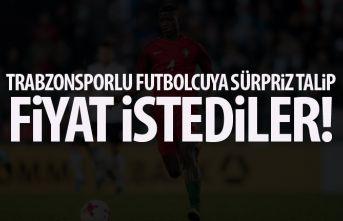 Trabzonsporlu oyuncuya sürpriz talip! Trabzonspor'dan fiyat istediler!