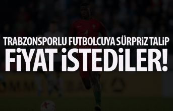 Trabzonsporlu oyuncuya sürpriz talip! Trabzonspor'dan...