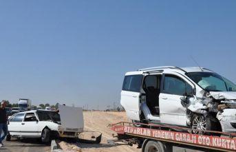 Nizip'te trafik kazası