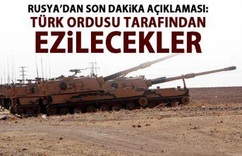 Rusya'dan son dakika açıklaması: Türk ordusu...