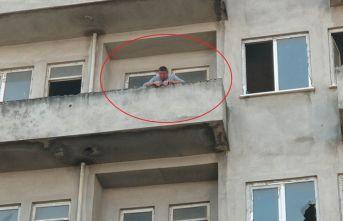 Samsun'da intiharı polis önledi