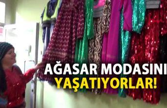 Trabzon 'ağasar' modası geleneği yaşatılıyor
