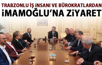 Trabzonlu iş insanları ve bürokratlardan İmamoğlu'na...