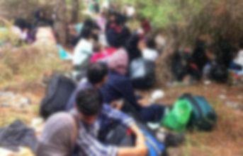 61 düzensiz göçmen ve 3 organizatör yakalandı