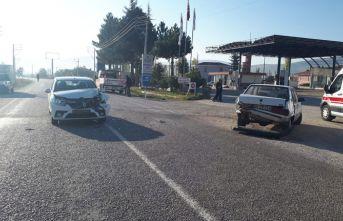 Şuhut'ta trafik kazası