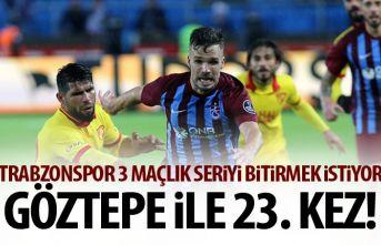Trabzonspor ile Göztepe 23. Kez!