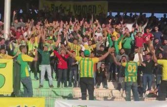 Adıyaman taraftarlarından Trabzon tezahüratı
