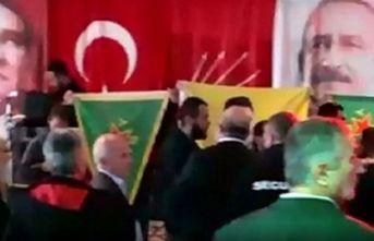 CHP'nin toplanısına PKK'lılar saldırdı!