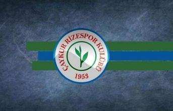 Çaykur Rizespor'da teknik direktör Kartal görevinin...